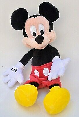Disney Mickey Mouse Plush Doll 12 inch  Pre-Owned Parks Authentic Original