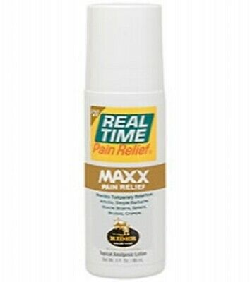 Real Time Pain Relief - MAXX Pain Relief 3oz Roll-On