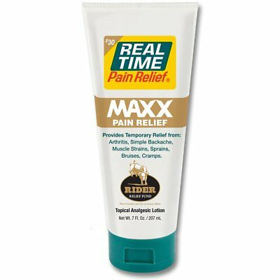 Real Time Pain Relief - MAXX Pain Relief 7oz Tube