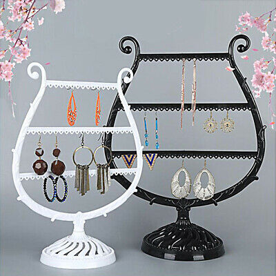 Piano Shape Show Rack Earring Holder Necklace Ring Jewelry Stand Display