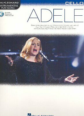 Hal Leonard Adele for Cello - mit Online Audio Access