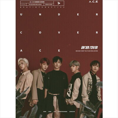 A.C.E ACE - Under Cover (2nd Mini) CD+Photocard+Photobook+Sticker+Poster NEW