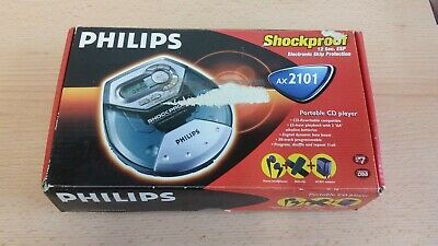 Phillips personal CD player AX2101 boxed