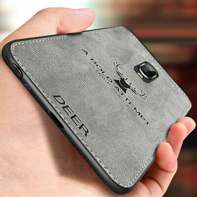 For OnePlus 7 7 Pro 6 6T 5 5T Luxury Fabric Texture Hybrid Soft TPU Leather Case
