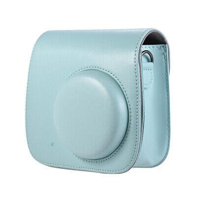 Andoer Ice Blue PU Camera Protective Bag for FujifilmInstax Mini 9/8/8+ Y8N0