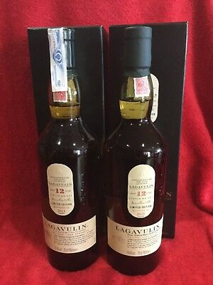 1+1 Whisky Lagavulin 12 years limited Edition 2011 & 2015