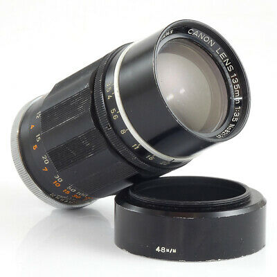 Canon 135mm f/3.5 LTM Rangefinder Lens 39mm screw fit | CANON CAMERA DEALER