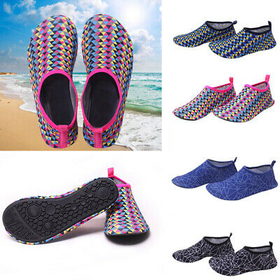 b675dc474f6 Mens Womens Water Shoes Non-slip Swim Beach Diving Surf Aqua Socks Wetsuit  Size