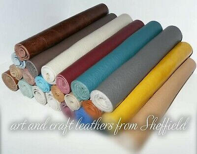 20 x 10cm Real Leather off cut,remnant,sample,Clothing,Furniture & Patch Repairs