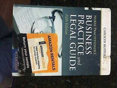 Nurse Practitioner's Business Practice and Legal Guide by Carolyn Buppert (2014,