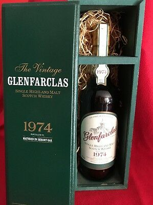 Whisky Glenfarclas 27 years  The Family Malt Collection Vintage 1974-2001