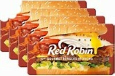 Red Robin $25 Gift Card- Free Delivery