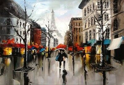 Modern Hand-painted Art Oil Painting Abstract Wall Decor Canvas #&005 (No Frame)