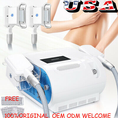 New Arrival Two Handles Fat Freeze Slimming Machine Cooling Vacuum Sculpting Spa