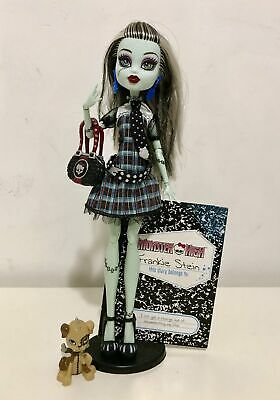 Monster High Frankie Stein Original Ghouls Wave 2 Doll Mattel VGC