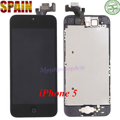 Frontal Completo Pantalla LCD iPhone 5 Retina Display Tactil Digitalizador Negro