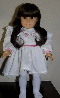 PLEASANT COMPANY American Girl Doll Samantha with Summer Lawn Party Tea Dress