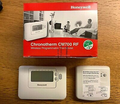 Honeywell CM727 RF Wireless 7 Day Programmable Room Thermostat - Boiler Plus