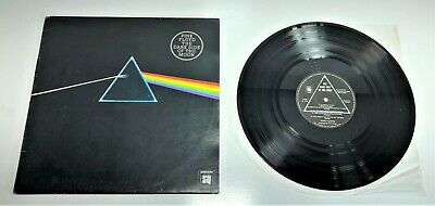 Vintage Vinyl Record | Pink Floyd The Dark Side Of The Moon 1973 Quadrophonic