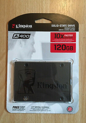 "Kingston SSD A400 - Disco duro sólido, 2.5"", SATA 3, 120 GB - Nuevo"