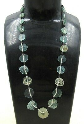 Authentic Ancient Roman Era Glass Necklace - J197