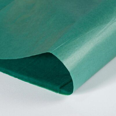 "Dark Green Tissue Paper 17.7 x 27.5"" - 450 x 700mm 17 gsm Thickness"