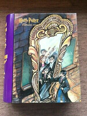 Vintage Official Harry Potter And The Sorcerer's Stone Book Shaped Storage Tin