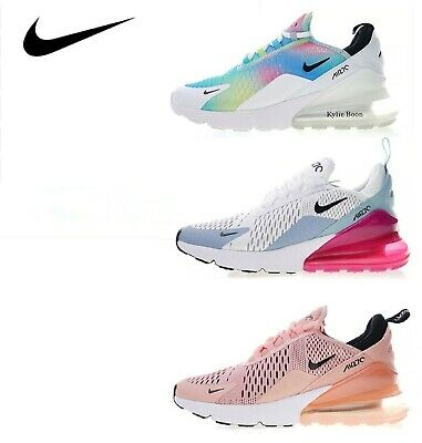a1c3ac76cf Nike Air Max 270 Womens Running Shoes Sneakers Athletic Breathable Outdoor  Sport