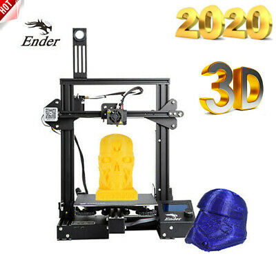 Creality Ender-3 Pro Upgraded 3D Drucker 22x22x25cm V-Schlitz Resume DIY MK-10