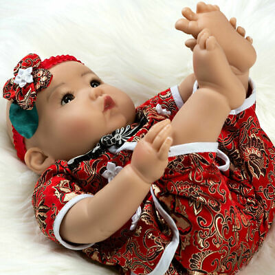 """Asian Reborn Baby Girl Doll Realistic Weighted Lifelike 20"""" Chinese Soft Touch"""