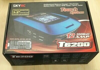 SKY RC T6200 Touch System, Professional Balance Charger / Discharger, 12 200watt