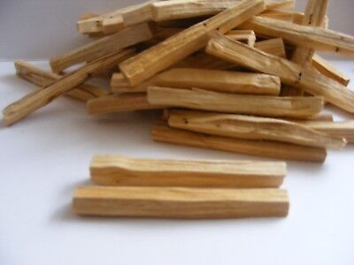 25 x PALO SANTO🌕 Holy Clearing INCENSE sticks ORGANIC & WILD HARVESTED🌕