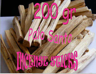 PALO SANTO 🌕Sacred ORGANIC Incense/Clearing sticks X 200gr + Palo Santo Oil