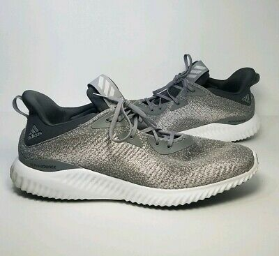 Adidas Alphabounce Shoes Sz 16 US  Beyond Team Running Grey Black White Athletic