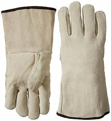 Leather Welder Gloves Large Heavy Duty Stick Welding Glove High Heat Resistant