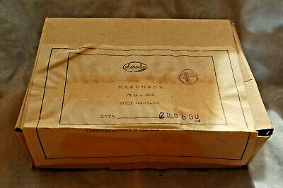 Oktava MD382 md 382 Vintage Dynamic Microphone New old stock