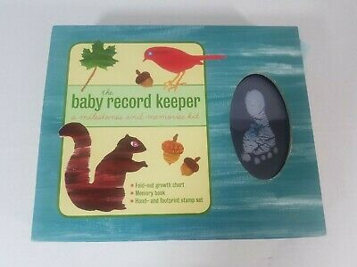 The Baby Record Keeper Album Memory Book Kit Metro Books Fold Out Growth Chart