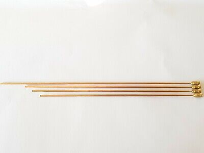 Tuned Gong Set Bronze Rods Longest 290mm Length Diameter