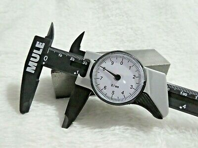 MULE 0-150mm dial vernier caliper measurement gauge micrometer tool