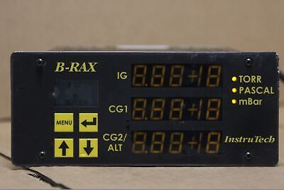 USED, without probe : InstruTech B-RAX B-RAX3100 / Vacuul Gauge Controller