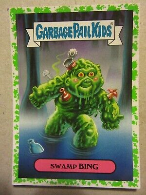 GARBAGE PAIL KIDS, Swamp Thing, Oh, The Horror-ible, Wes Craven, David Hess, DC