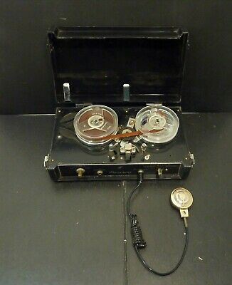 Vintage Transistor 4 Portable Reel to Reel Recorder