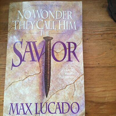 LOT OF 2    MAX LUCADO**TRADE SIZE PAPERBACKS***aslisted** free shipping*****