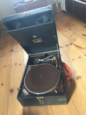 Hmv. His Masters Voice Portable Gramophone Soundbox