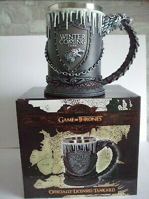 Game Of Thrones Winter Is Coming Tankard Collectors Item
