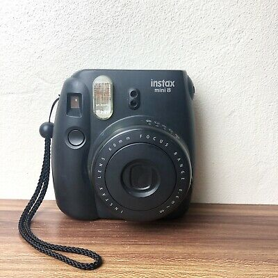 Fujifilm Instax Mini 8 Black Instant Film Camera