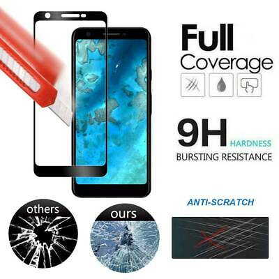 For Google Pixel 3a XL 9H Full Coverage Tempered Glass 3D Clear Screen Protector
