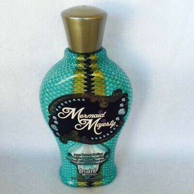 Devoted Creations Mermaid Majesty Cooling Bronzer Tanning Bed Lotion 13.5 oz