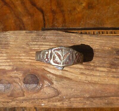 Late Medieval or Post Medieval Tudor Decorated Ring-British Detecting Find