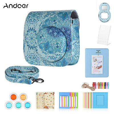 Andoer 8 in 1 Accessories Bundle for Fujifilm Instax Mini 9/8/8+/8s with J8W4